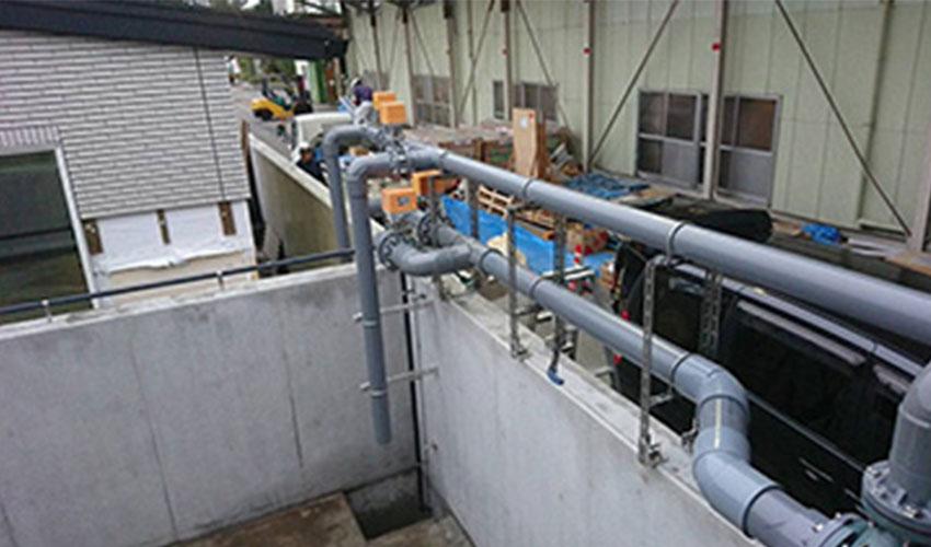 栃木県内全域及び近県のプラント配管工事